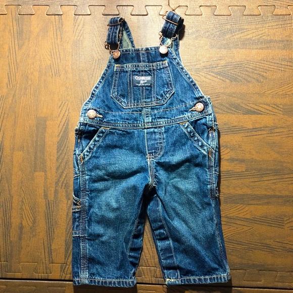 4/$20 OshKosh Baby Overall Jeans.